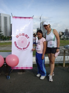 alyanna with me after we finished the Mommy Milkshake Marathon (and the Feati 5k run earlier the same day)