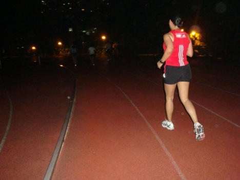 running training is something that i always look forward to