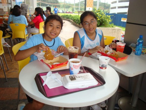 breakfast at McDo