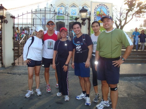 at the Shrine of the Our Lady of Peace and Good Voyage