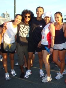 Jaymie (TBR), Coach Rio, JunC, me and Zinnia
