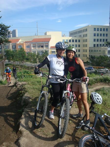 with good friend Rissa