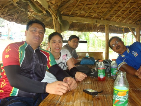 pol, me, ravie and tata bert