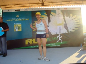 that's me at the Runew stage