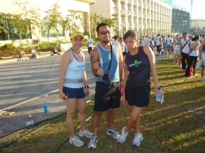 with Pinoy Ultra Runner Hector and Z