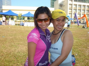with triathlete and chef Kaye Lopez