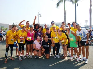 I Am Ninoy Runners with friends