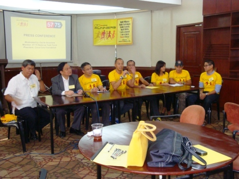 iamninoy Runners Steering Committee and 57-75 Movement convenors