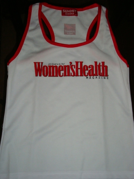 my cool Women's Health singlet :D