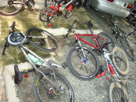 tired bikes