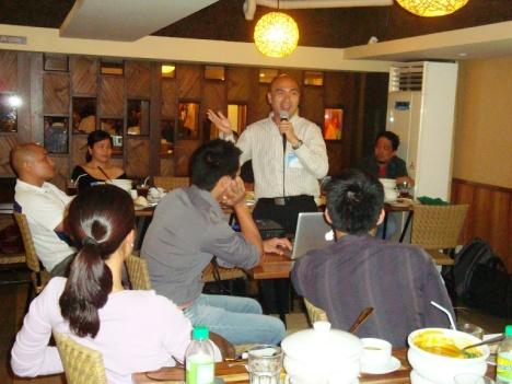 Mr. Angelo Yanares of Globe Telecom