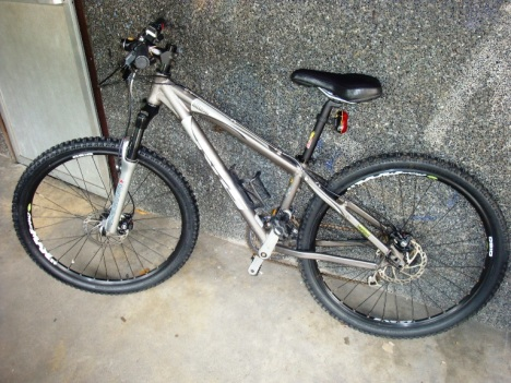my mtbike, do you think i better give it a name?  ;)