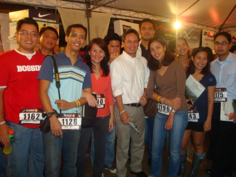 my celebrity friends: bobby, Pol, Jun and Mariel, Ben, Miguel, Dingdong, Jaymie, Bards, Tin and Dindo