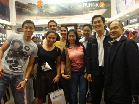 inside the store with harry, marga, dingdong, bards, me, dindo, toby and jay