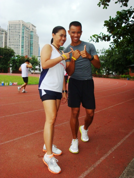 me and coach joar at the ultra