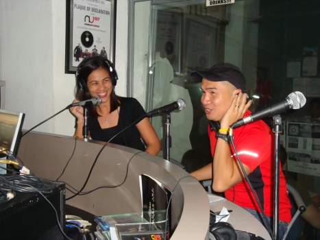 Jaymie and Jay on-air