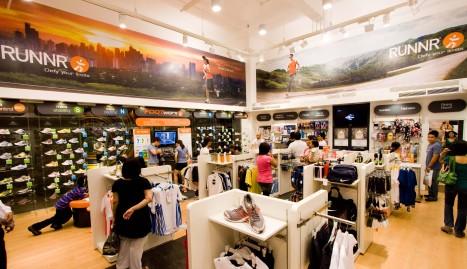 Inside the RUNNR Store