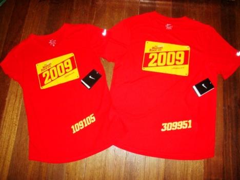 the women's and men's Nike Human Race Drifit Shirt