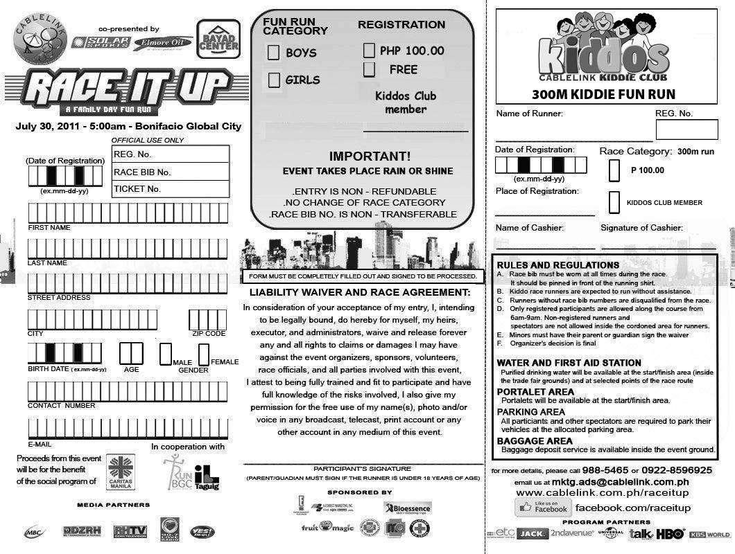 race it up | Kulit on the Run
