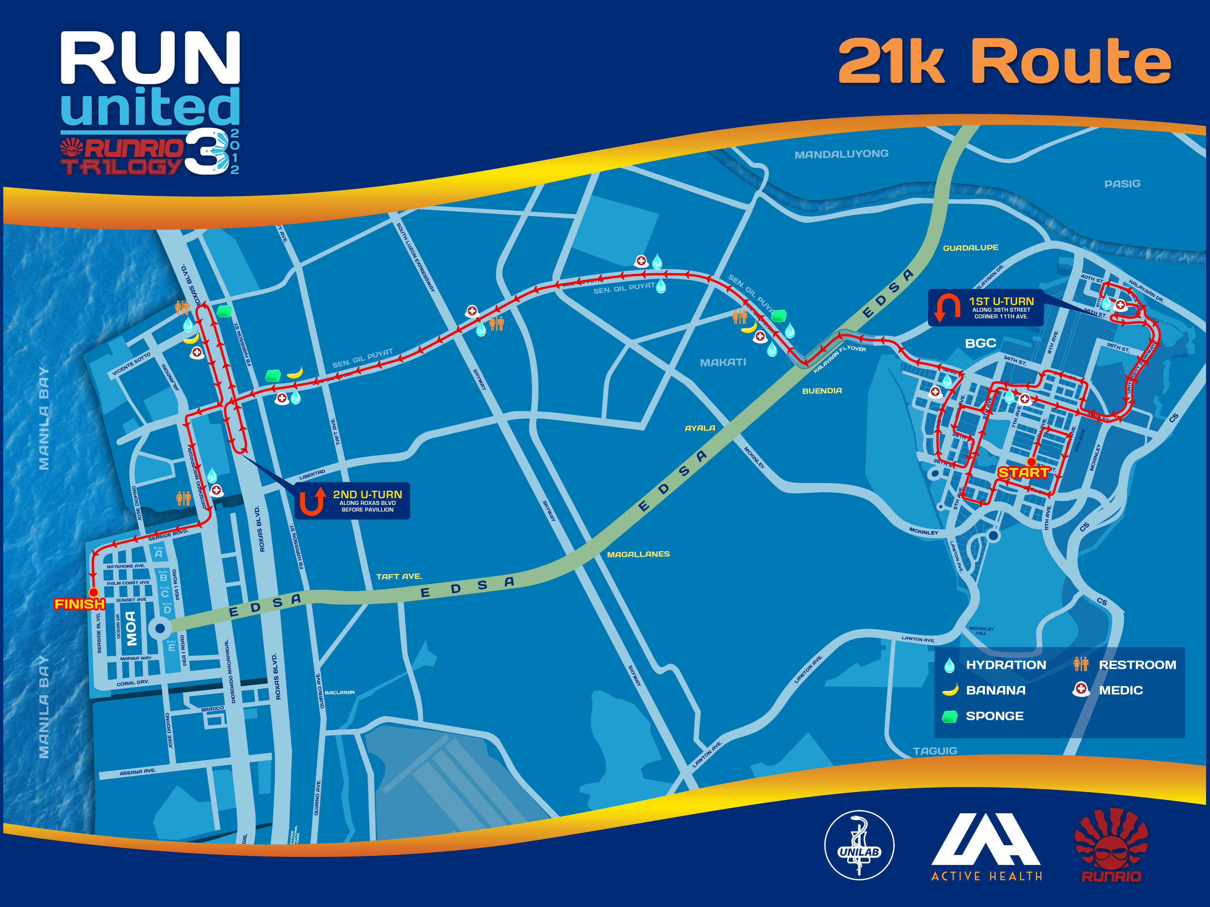 runrio trilogy 3 unilab run united 3 route maps | kulit on the run