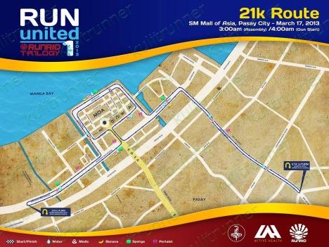 21km route - kulit