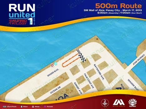 500m route - kulit