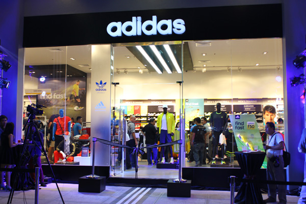e15f608952d adidas Bonifacio Global City Store facade