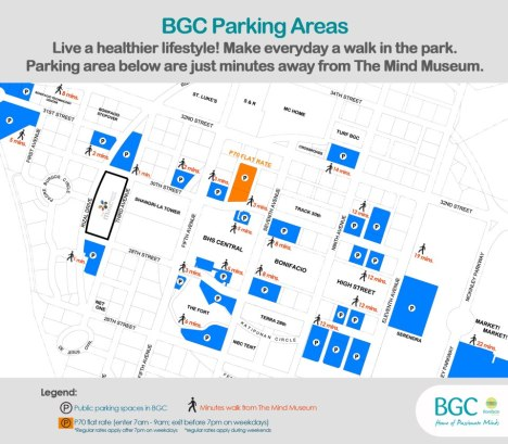 BGC Parking areas