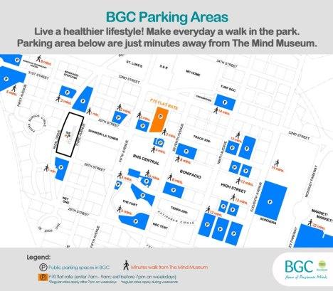 BGC Parking areas