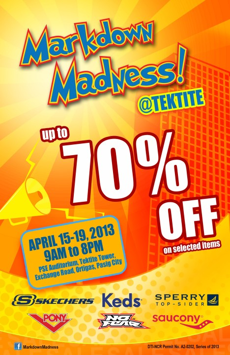 Markdown Madness Official Poster