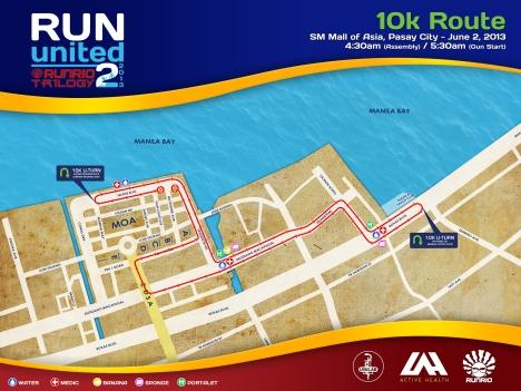 RU2 2013 Race Route 10k