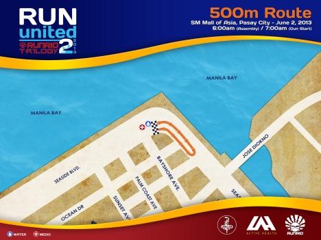 RU2 2013 Race Route 500m