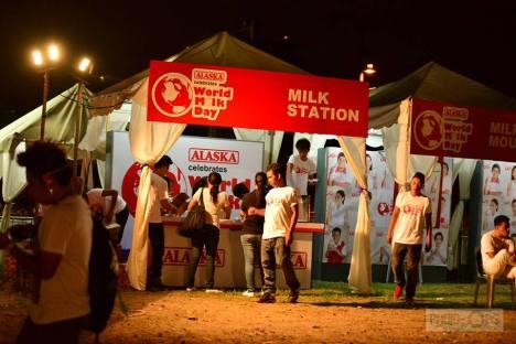 milk station