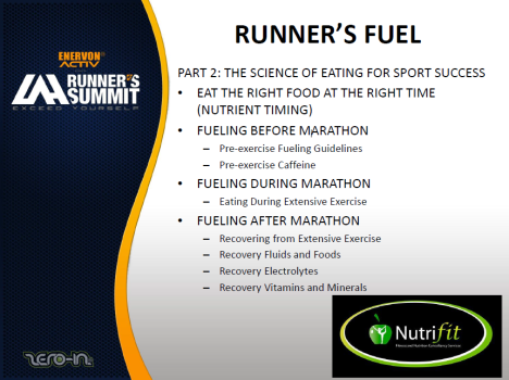 Runner's Fuel Topics2