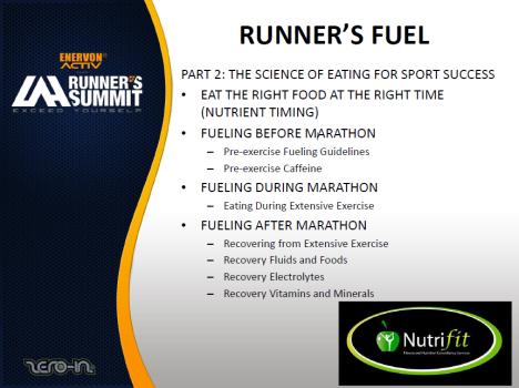 Runner's Fuel Topics2