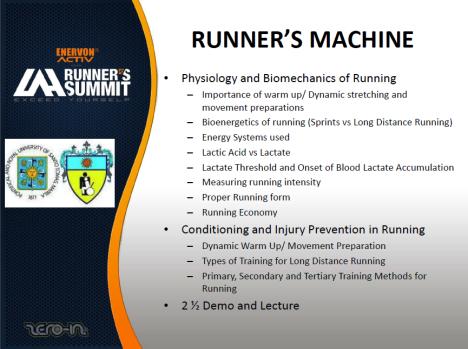 Runner's Machine Topics