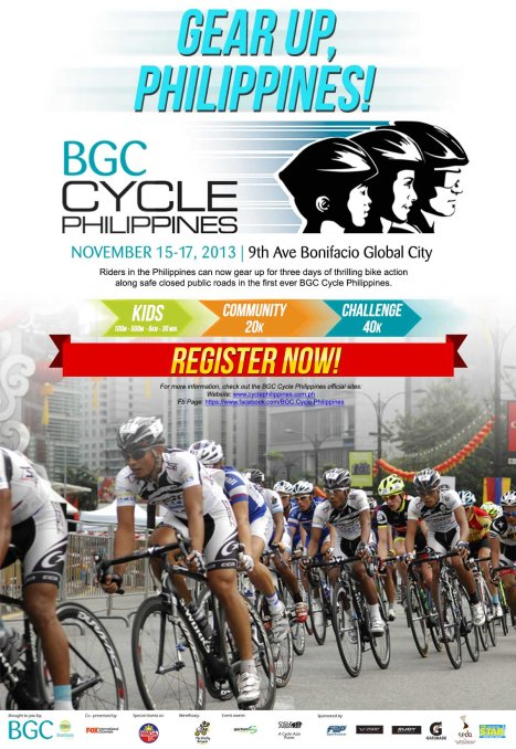 BGC Cycle Philippines 2013 Online Poster