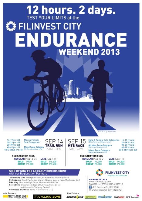Endurance Weekend 2013 Poster_updated