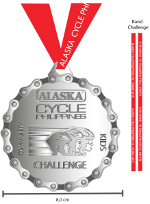 medal for challenge ride