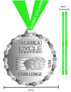 medal for community and foldies community ride