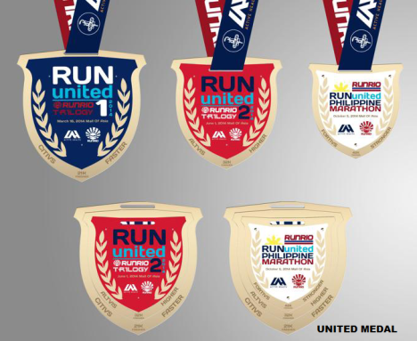 run united medal