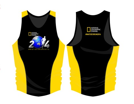 EDR Singlet 2014_black and yellow