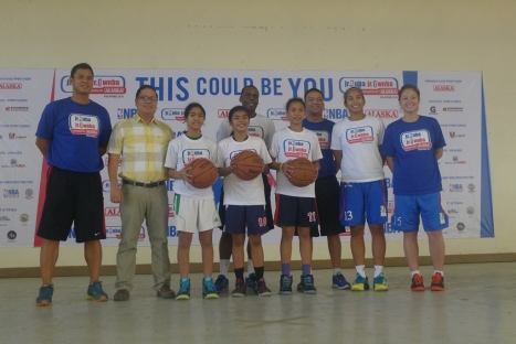 3 girls were the top pick to join the National Training Camp in Manila on April