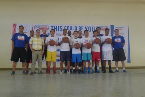 6 boys were the top pick to join the National Training Camp in Manila on April