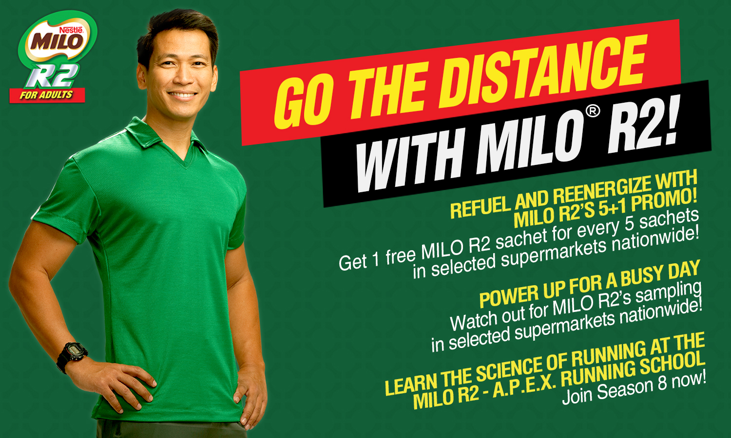 Milo Press Release Going The Distance Kulit On Run Sachet Manila Philippines 14 February 2014 In Celebration Of Its 50th Year Has Renewed Commitment To Building A Strong Nation