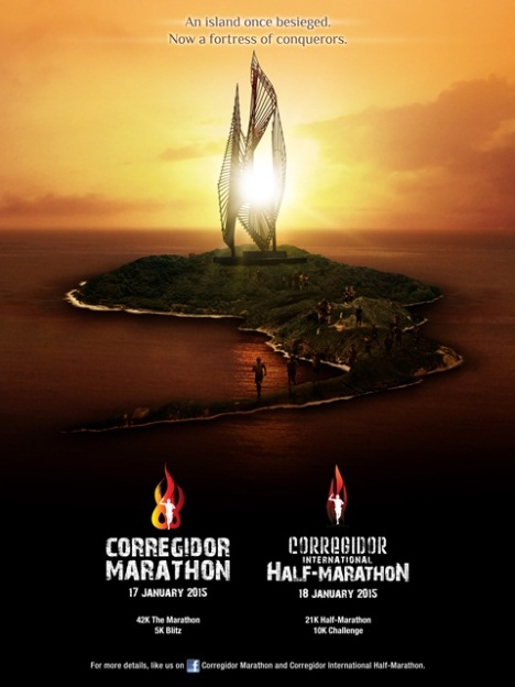Run Corregidor poster