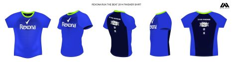 Rexona Run finsher shirt