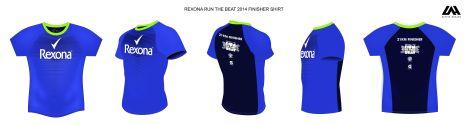 Rexona Run finsher shirt