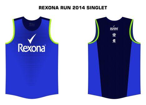 Rexona Run singlet