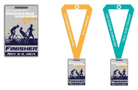 finisher's medal